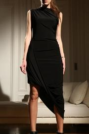 Alexia Klein Black Draped Dress - Front cropped