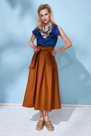Hunter Bell New York Alexis Camel Skirt - Product Mini Image