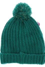 ALEXIS Pompom Holiday Hat - Front full body