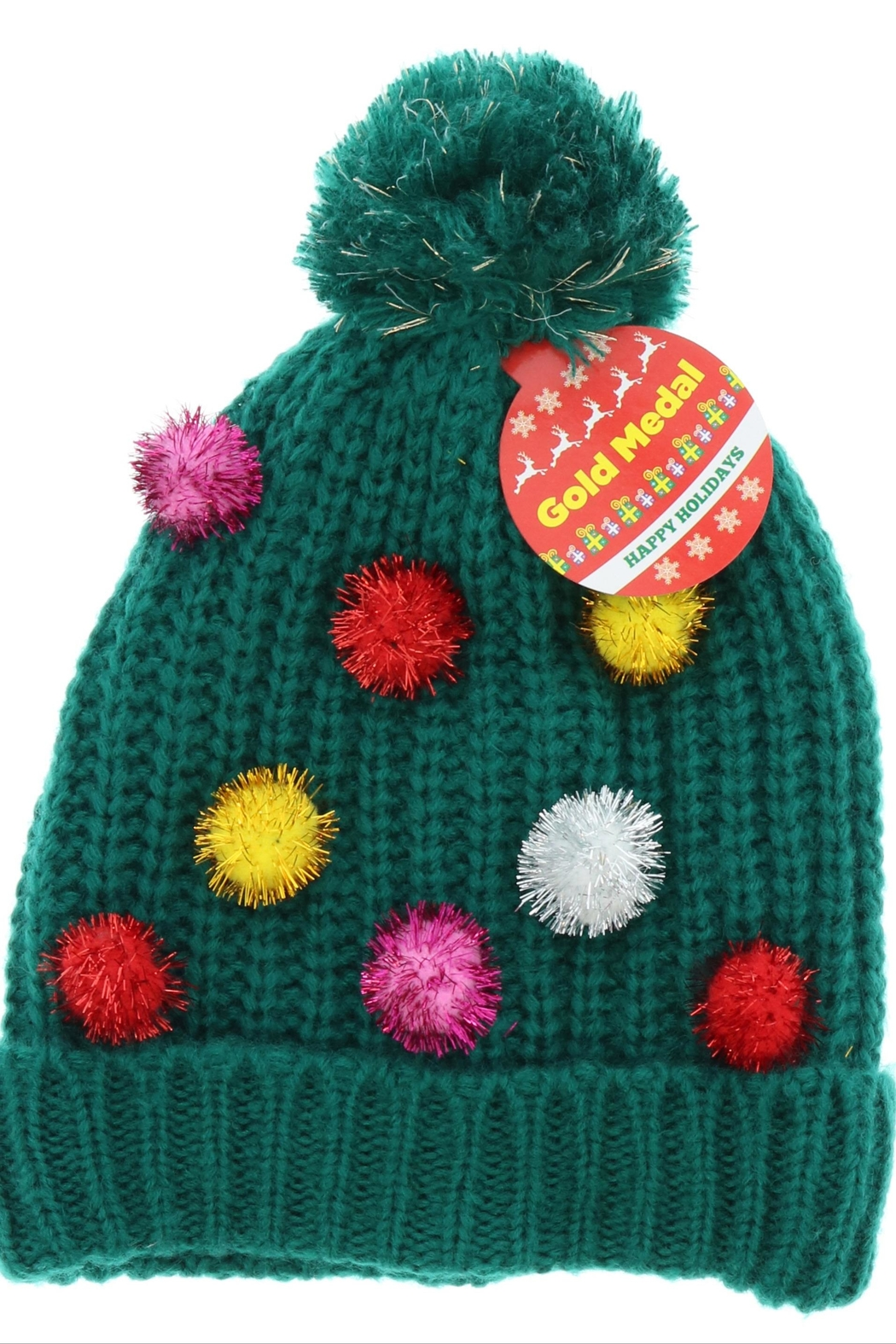 ALEXIS Pompom Holiday Hat - Main Image
