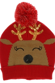 ALEXIS Reindeer Holiday Hat - Product Mini Image