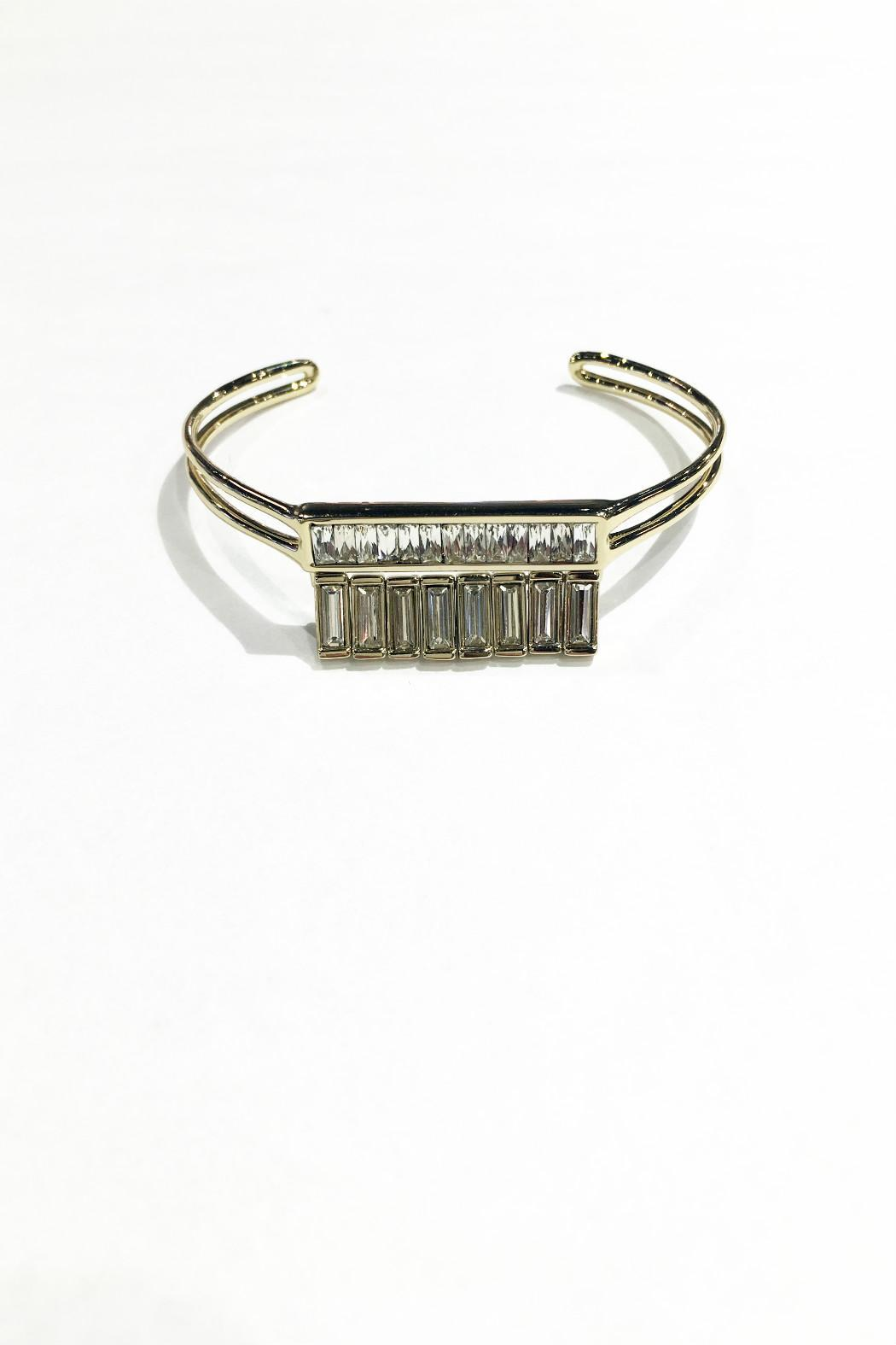 Alexis Bittar Baguette Channel Cuff - Front Full Image
