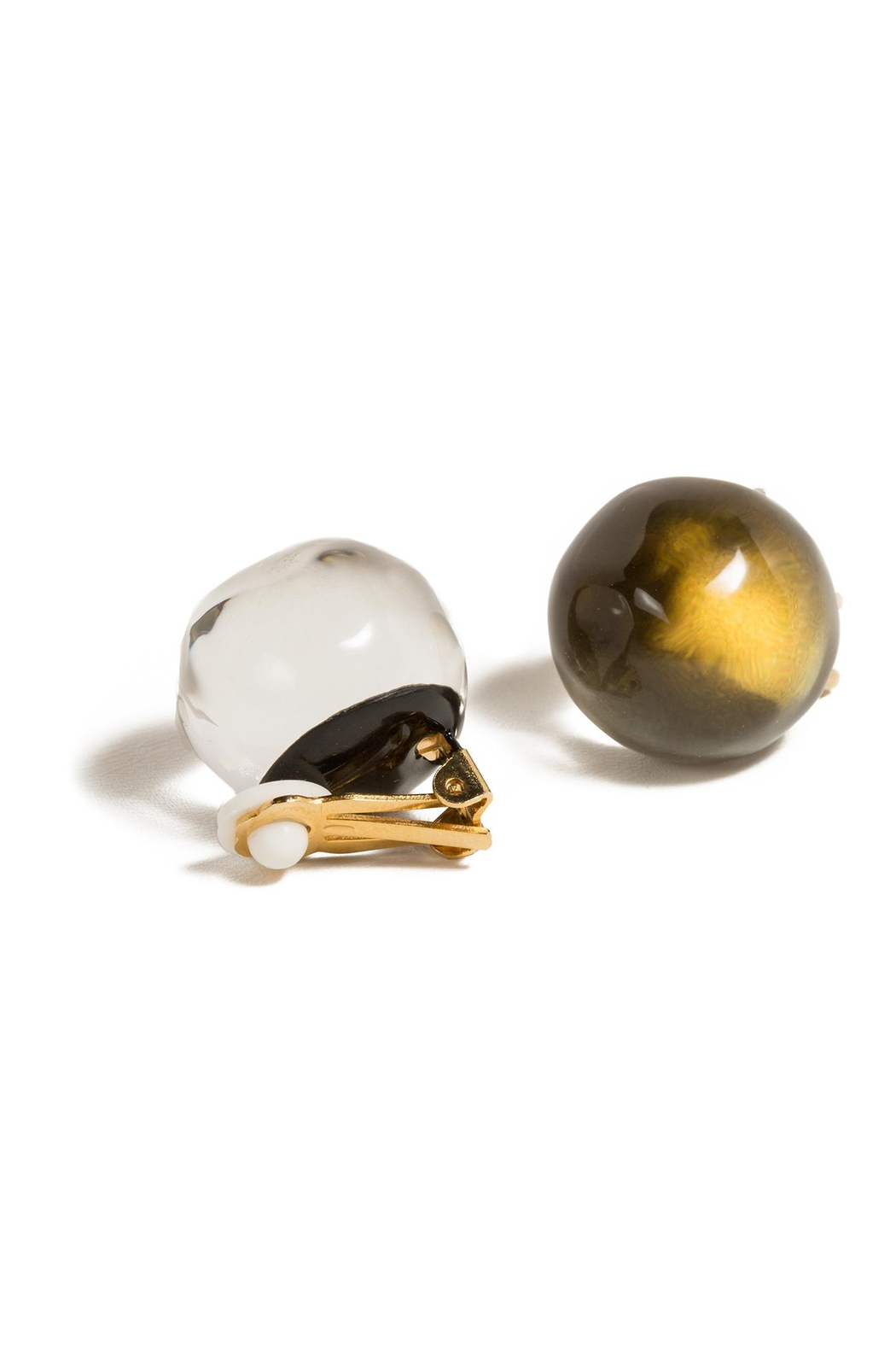 Alexis Bittar Button Clip-On Earrings - Main Image