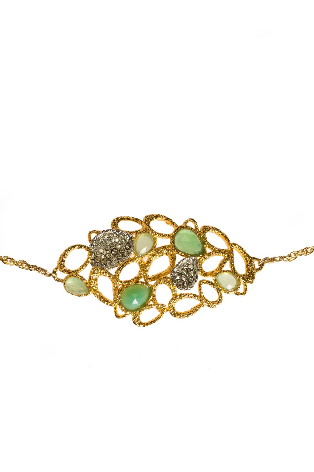 Alexis Bittar Chalcedony Labradorite Necklace - Front Full Image