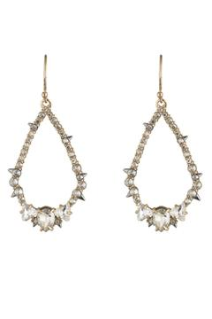 Alexis Bittar Crystal Encrusted Earrings - Product List Image