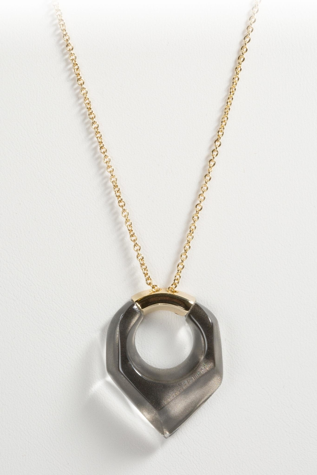 Alexis Bittar Faceted Pentagon Necklace - Main Image