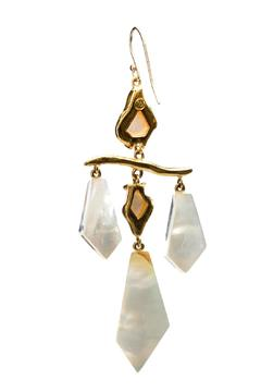 Shoptiques Product: Mother Of Pearl Earrings