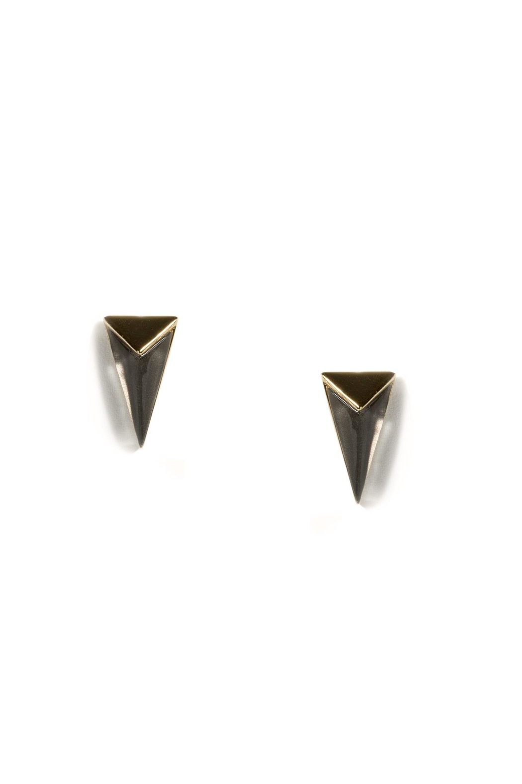 Alexis Bittar Pyramid Post Earrings - Front Cropped Image