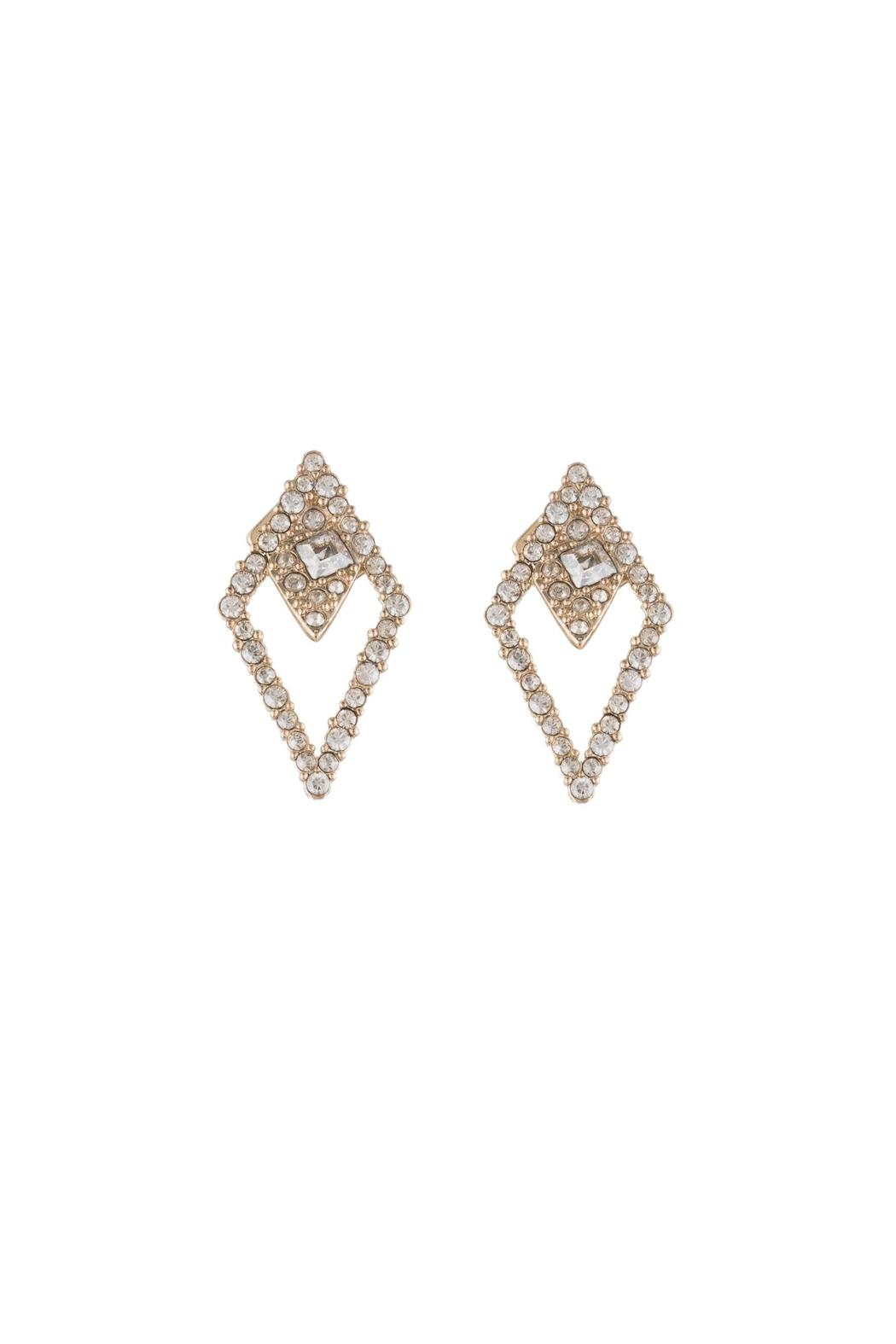 Alexis Bittar Spiked Lattice Earring - Front Cropped Image