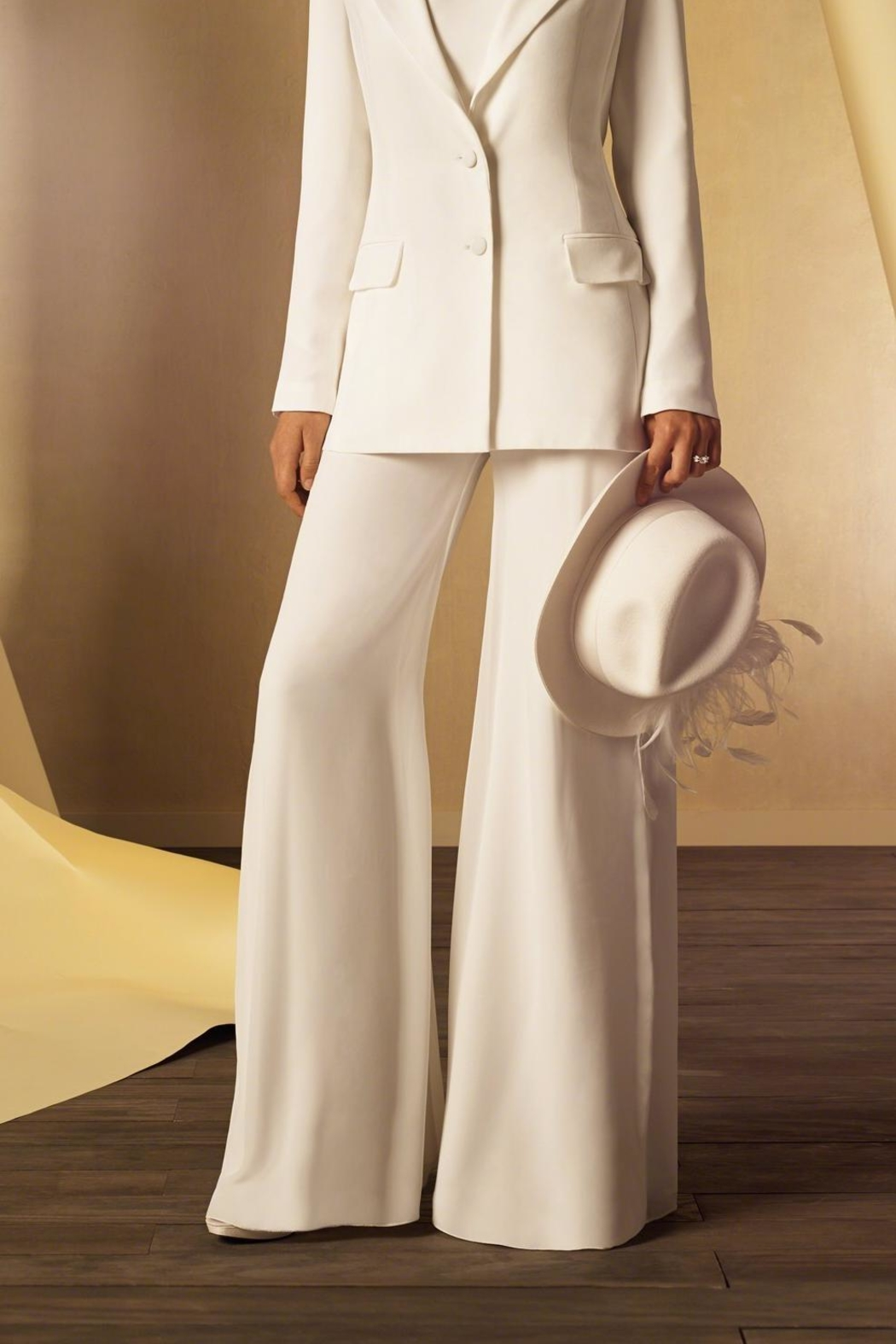Alfred Angelo Bridal Pants - Front Cropped Image