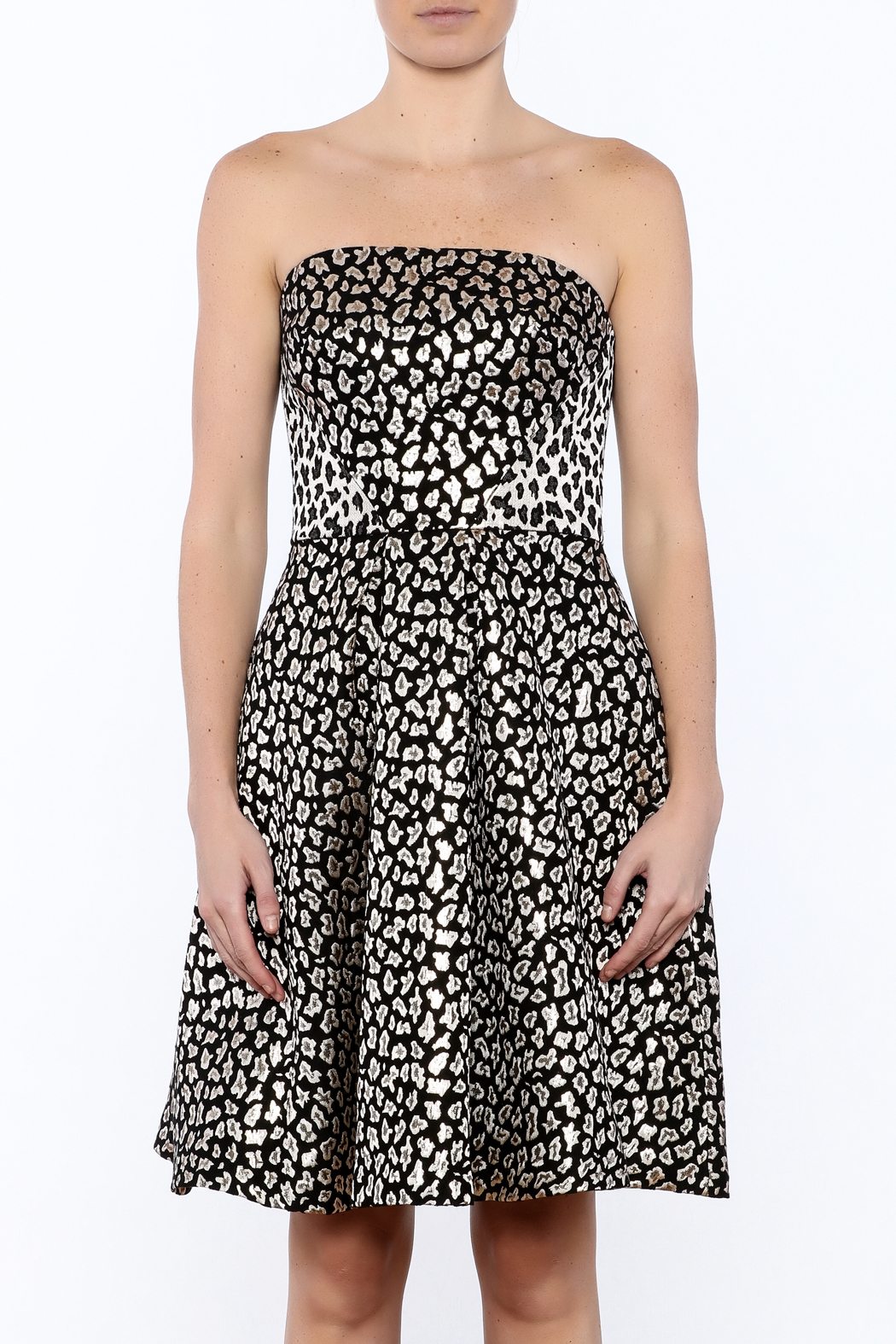 Ali & Jay Fit And Flare Dress - Side Cropped Image