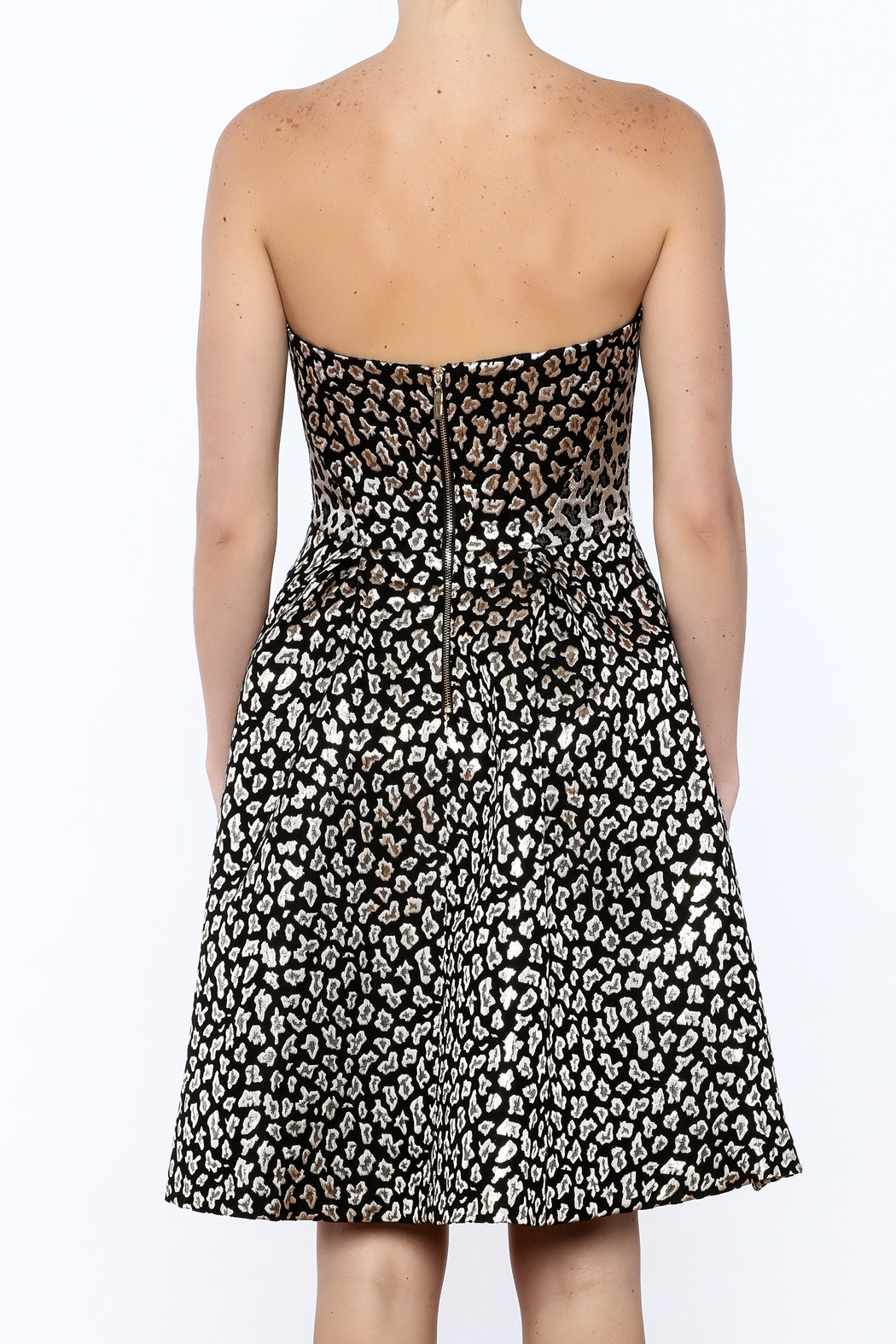 Ali & Jay Fit And Flare Dress - Back Cropped Image