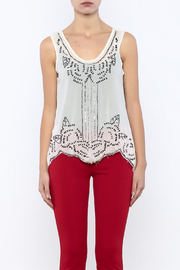 Ali & Kris Sequined Designed Top - Side cropped
