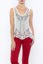 Ali & Kris Sequined Designed Top - Front cropped