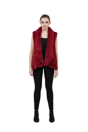 love token Ali Faux Fur Vest - Product Mini Image
