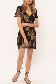 AMUSE SOCIETY Ali Floral Mini Dress - Product Mini Image