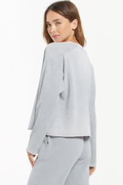 z supply Ali Washed Top - Back cropped