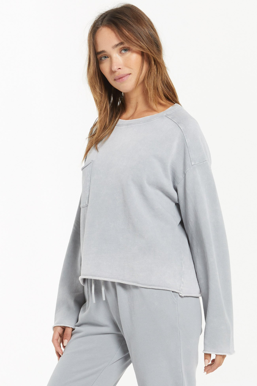 z supply Ali Washed Top - Side Cropped Image