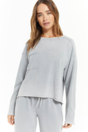 z supply Ali Washed Top - Front cropped
