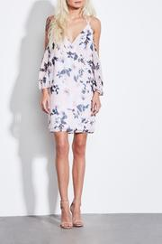 Ali & Jay Rosy Cold Shoulder Dress - Product Mini Image