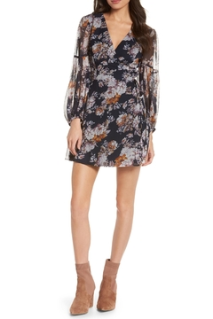 Ali & Jay Floral Wrap Minidress - Product List Image