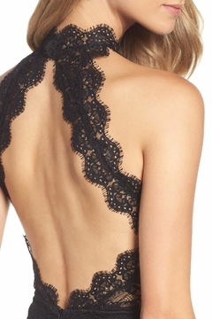 Ali & Jay Black Lace Gown - Alternate List Image