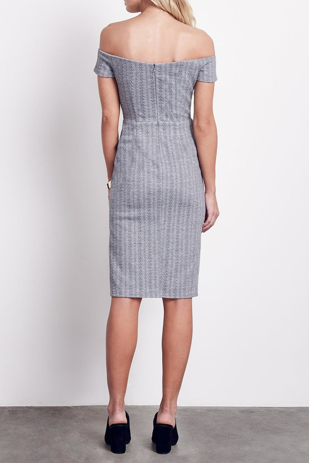 Ali & Jay Side Slit Sheath Dress - Front Full Image