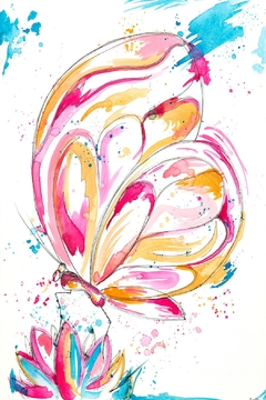 Shoptiques Product: Butterfly Art Print