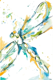 AliAnn's Children's Boutique Dragonfly Art Print - Product Mini Image