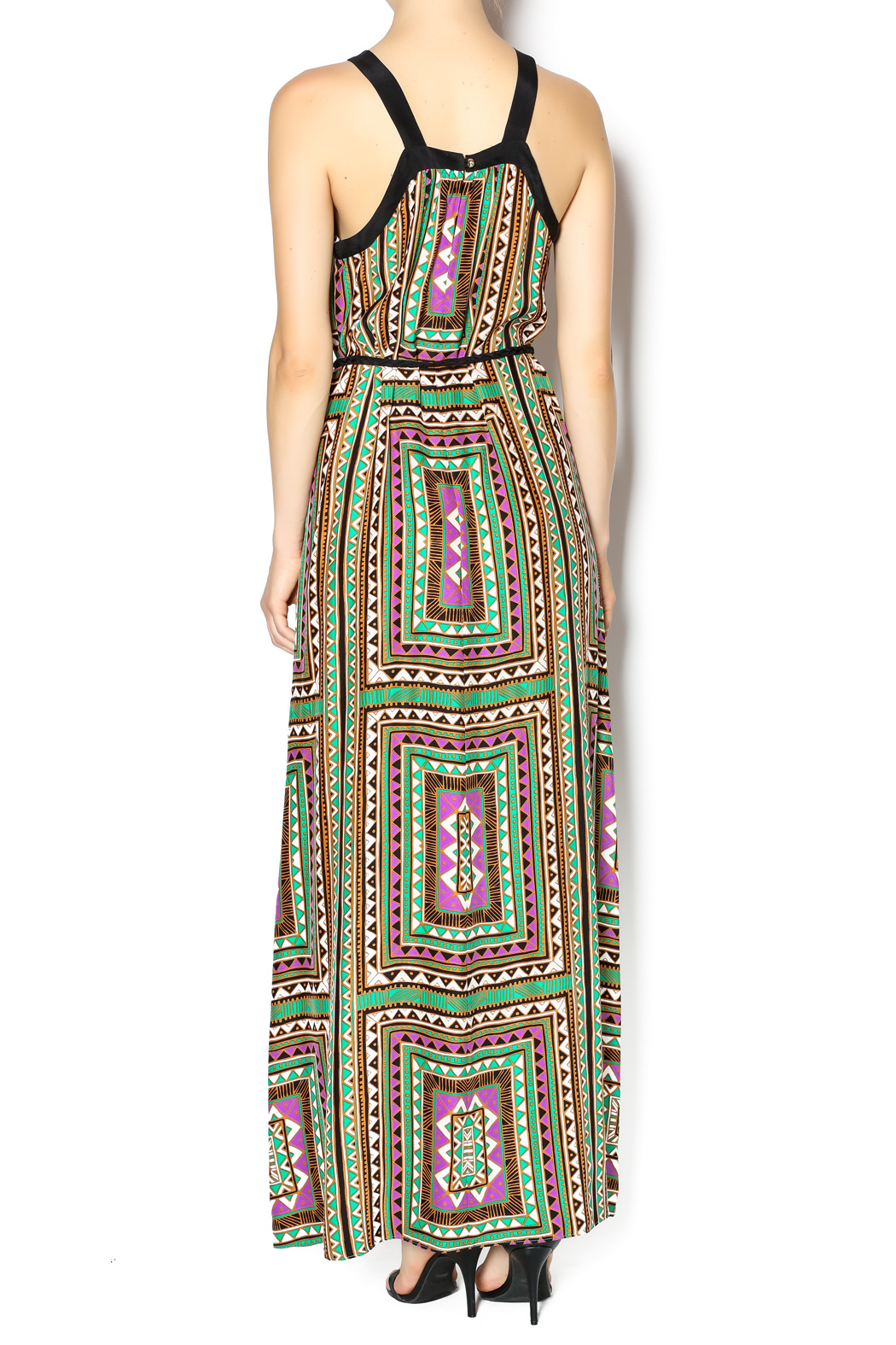 Alice + Trixie Chelsea Maxi Dress - Back Cropped Image