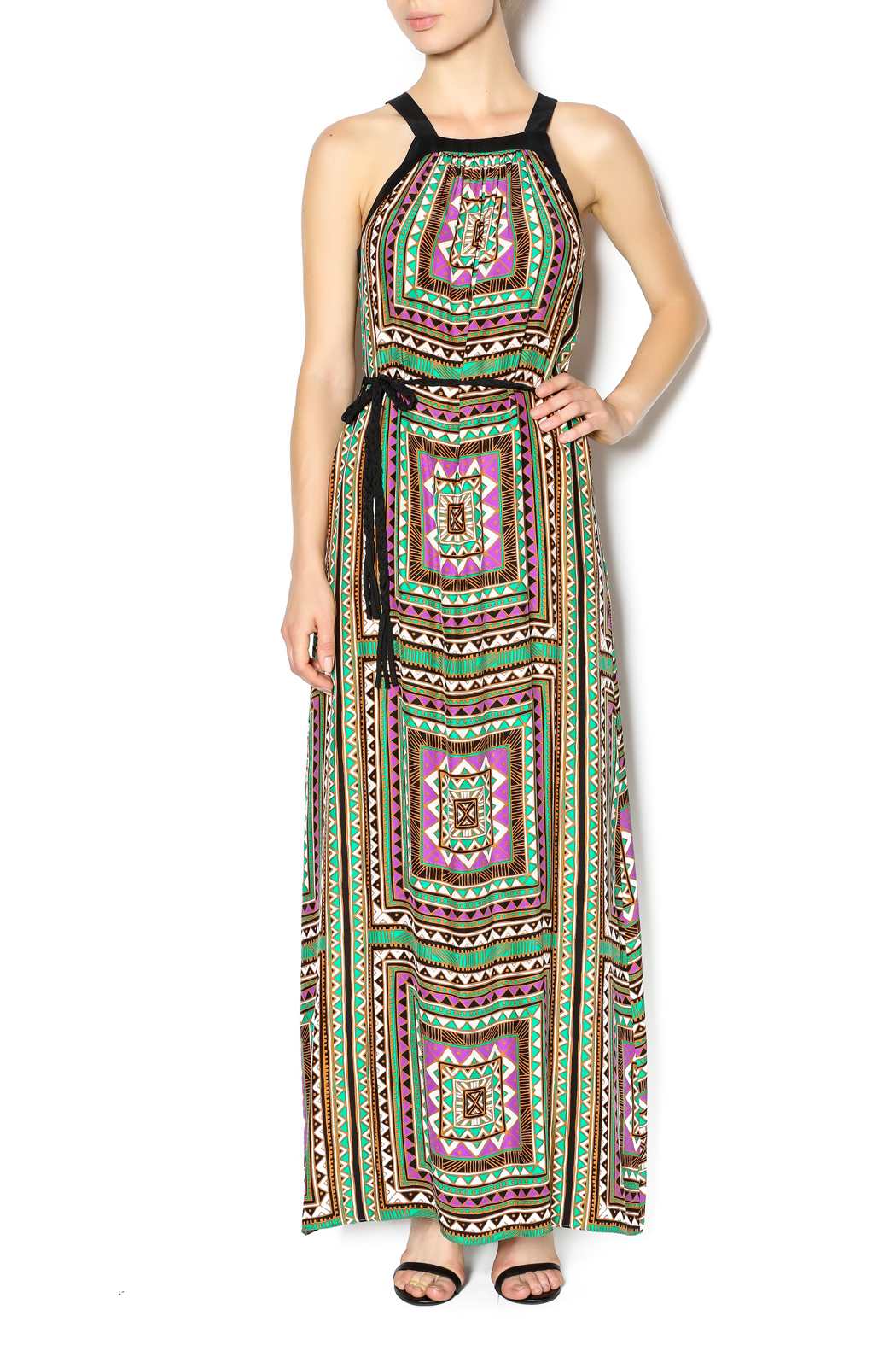 Alice + Trixie Chelsea Maxi Dress - Front Cropped Image