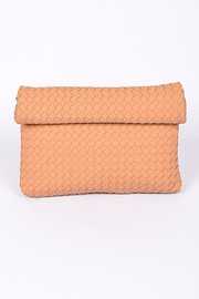 3AM FOREVER Alice Foldover Clutch - Front cropped