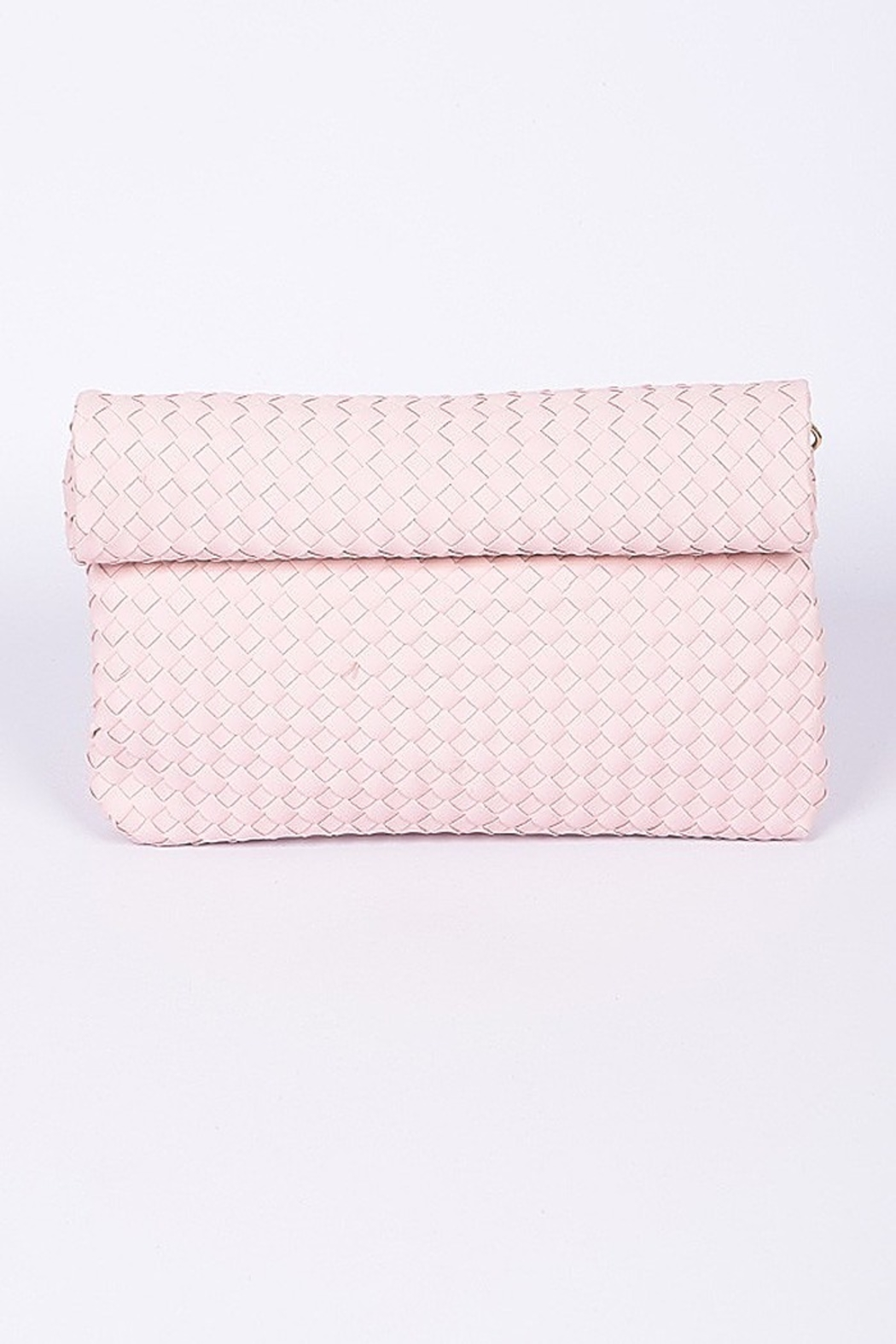 3AM FOREVER Alice Foldover Clutch - Front Cropped Image