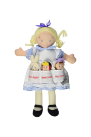 The Birds Nest ALICE IN WONDERLAND DOLLY POCKET - Product Mini Image
