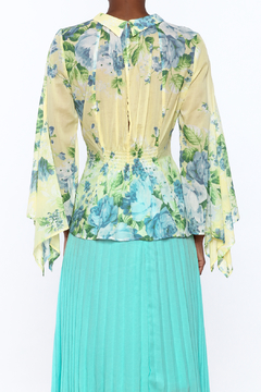 Alice McCall  Yellow Floral Blouse - Alternate List Image