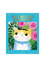 galison Alice's Adventures in Whiskerland Bookish Cats 100 Piece Puzzle - Product Mini Image