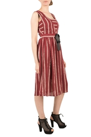 Alice's Pig Vintage-Look Striped Dress - Front full body