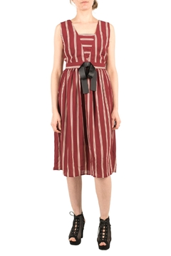Shoptiques Product: Vintage-Look Striped Dress