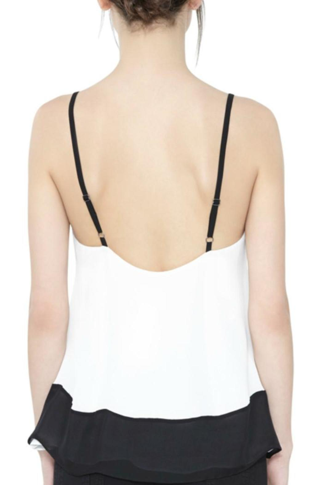 Alice + Olivia Cami With Contrast-Border - Front Full Image