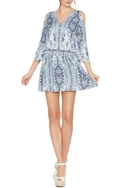 Alice + Olivia Jolene Cold Shoulder Dress - Product Mini Image