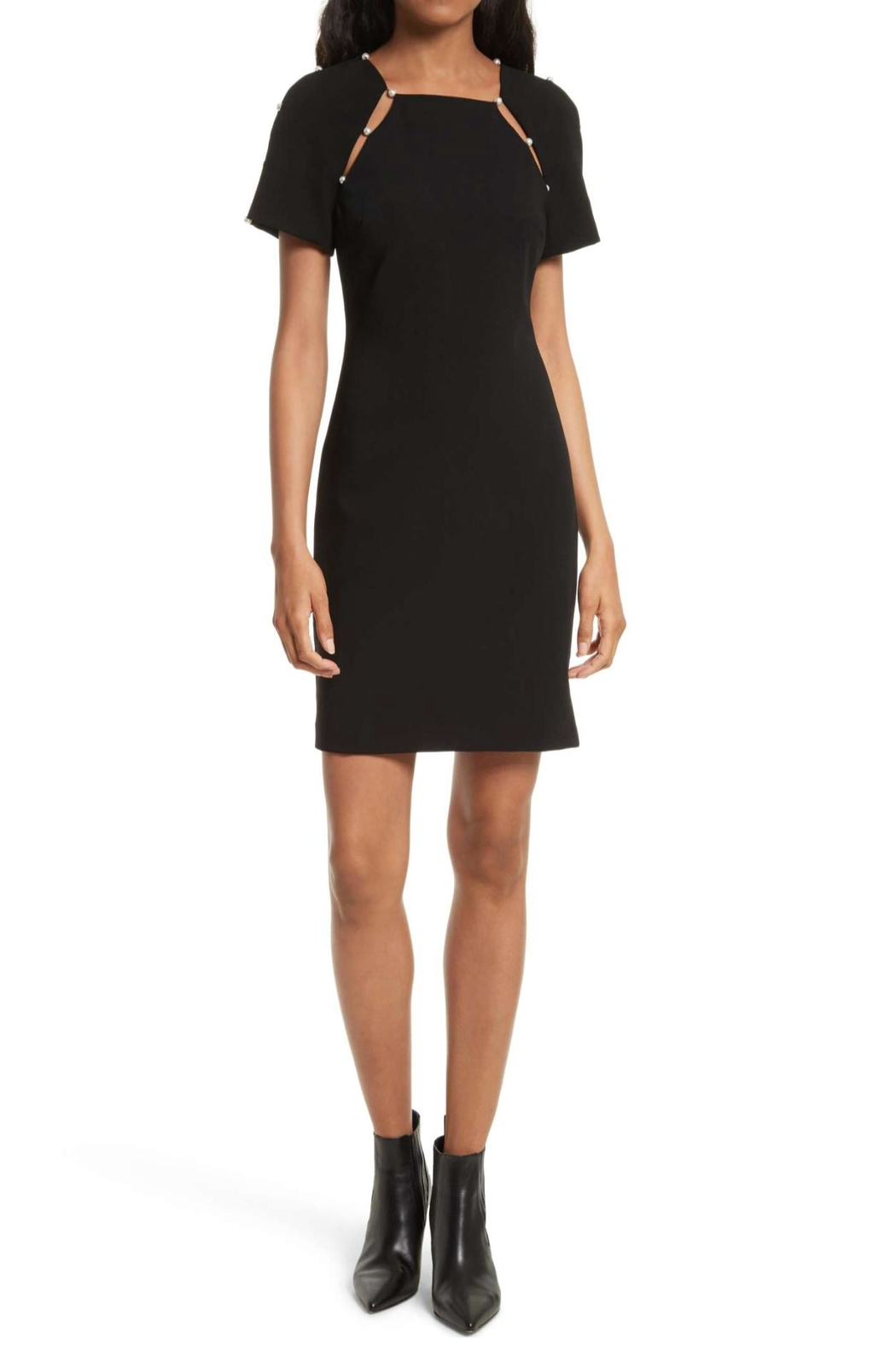 Alice + Olivia Kristiana Embellished Dress - Main Image