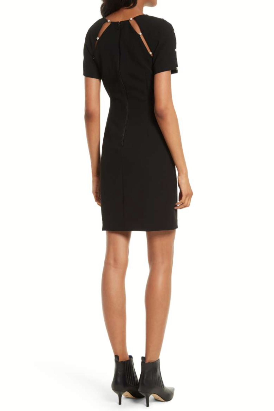 Alice + Olivia Kristiana Embellished Dress - Front Full Image