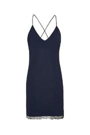 Alice + Olivia Navy Sleeveless Sheath Dress - Side cropped