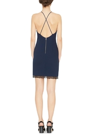 Alice + Olivia Navy Sleeveless Sheath Dress - Front full body