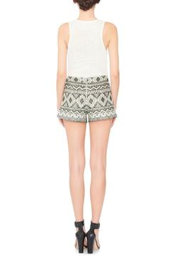 Shoptiques Product: Marisa Embroidered Shorts