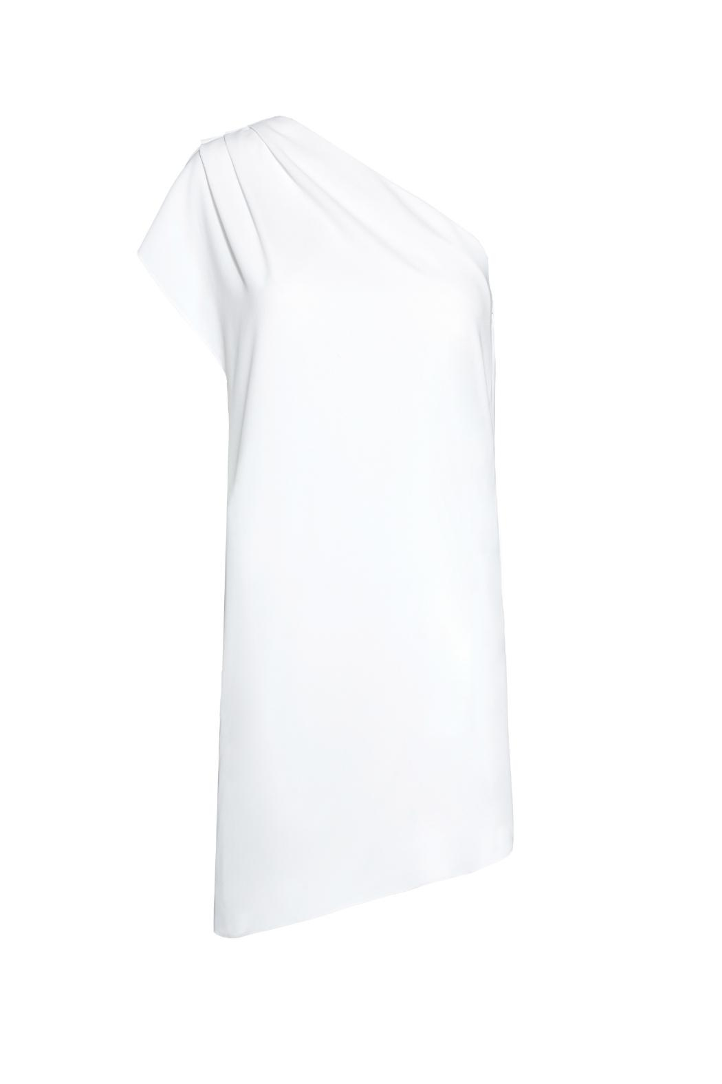 Alice + Olivia Melina One Shoulder Dress - Front Full Image