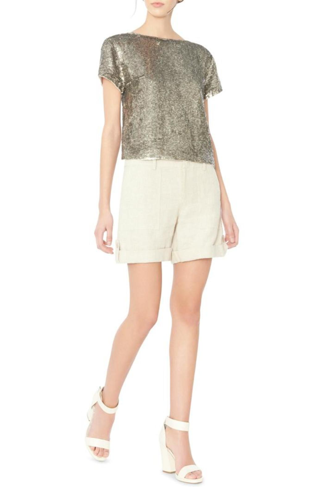 Alice + Olivia Sarita Sequin Top - Main Image