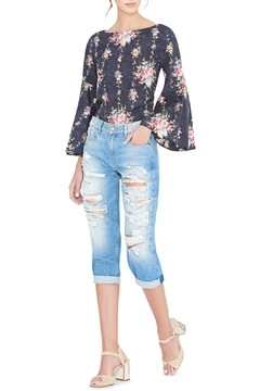 Alice + Olivia Shirley Floral Blouse - Product List Image