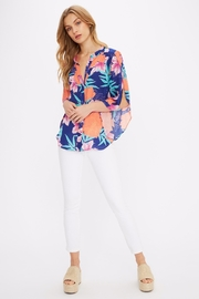 Alice + Trixie Print Silk Blouse - Product Mini Image