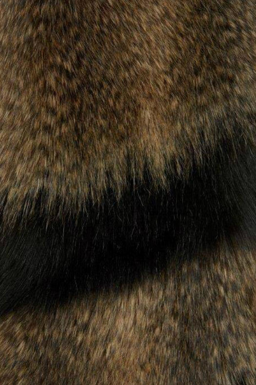 Alice Hannah London Animal Faux Fur Stole - Front Full Image